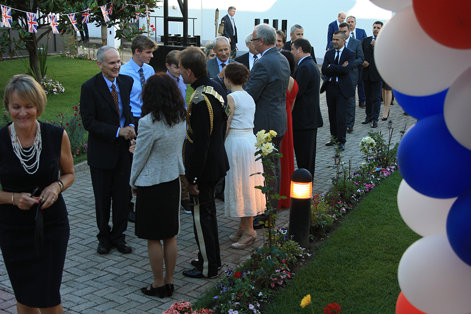 Queen's Birthday Party 2016 in Tirana