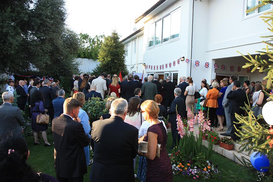 Queen's Birthday Party 2016 in Tirana
