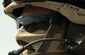 Soldier in Afghanistan (stock image)