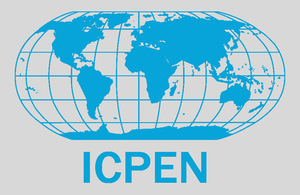 ICPEN logo.