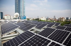 """the """"Supporting Southern Vietnam Solar Photovoltaic Development"""" Initiative"""