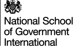 National School of Government International logo
