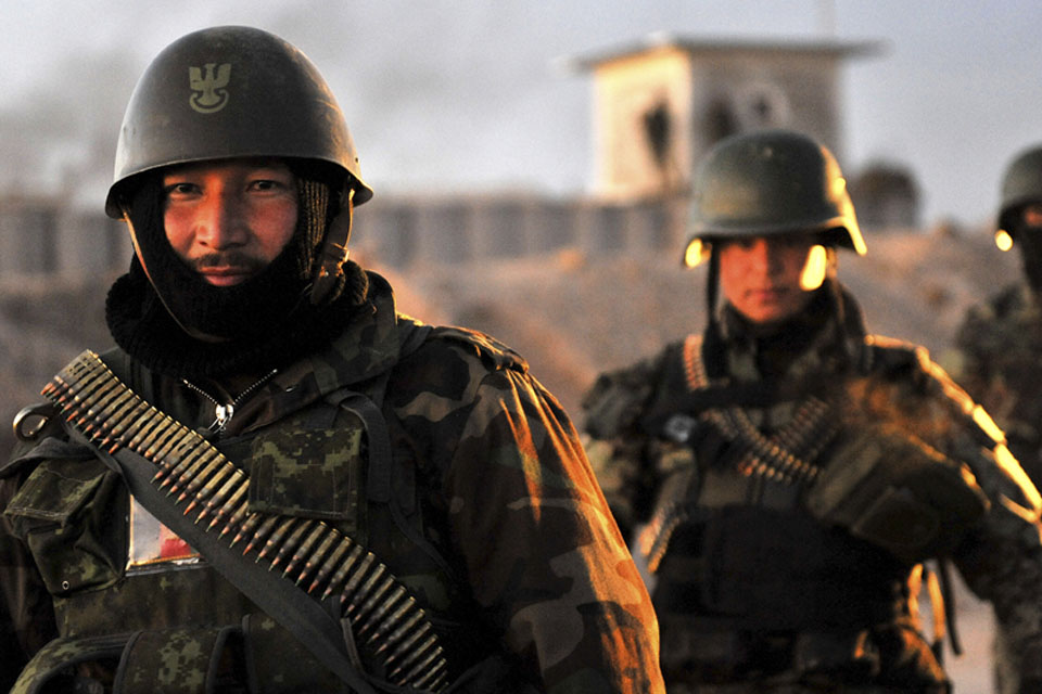 Afghan National Army warriors deployed on Operation HORHARI AFGHAN