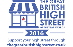 Great British High Street of the Year 2016 logo