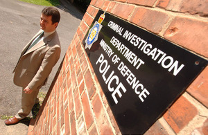 The Criminal Investigation Department of the Ministry of Defence Police