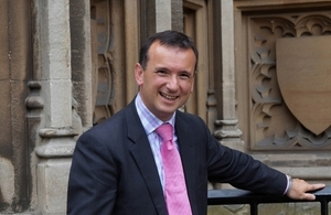 Secretary of State for Wales, Rt Hon Alun Cairns MP