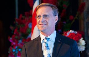 Brian Davidson, British Ambassador to Thailand