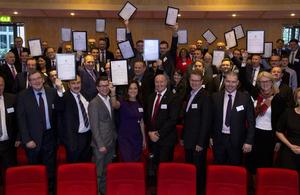 Highways England supplier awards 2015