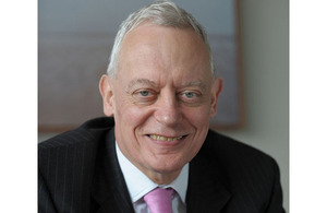 Gerry Grimstone, the new Lead Non-Executive for Defence