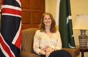 Belina Lewis, British Deputy High Commissioner to Karachi and Director UK Trade and Investment for Pakistan
