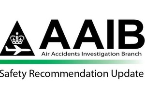 AAIB Safety Recommendation Update logo