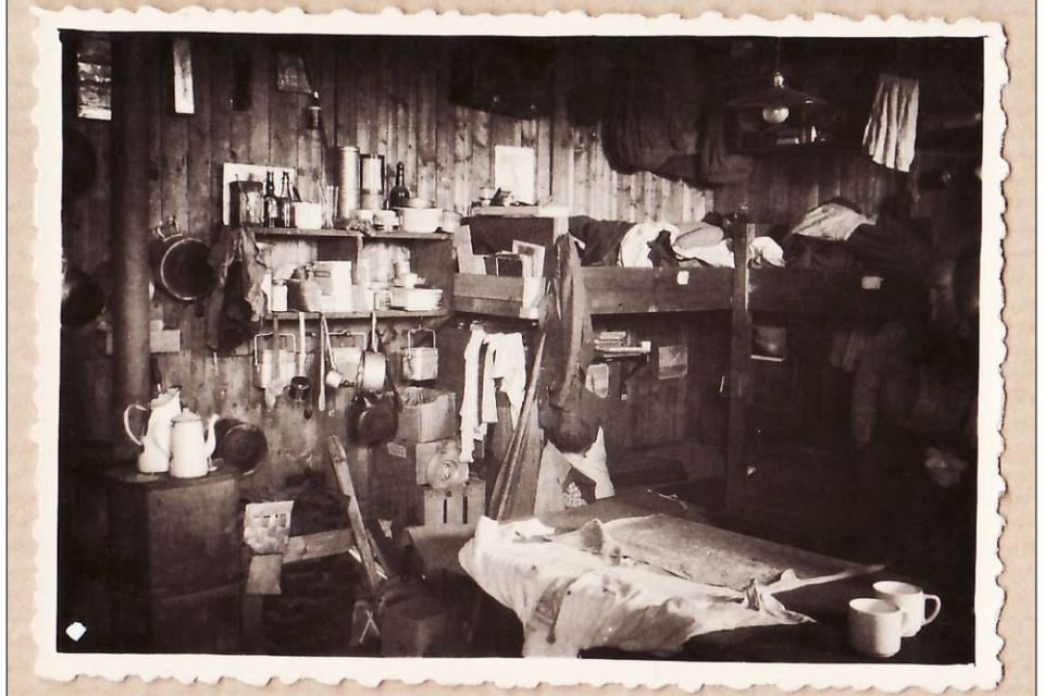 The inside of a prisoner's room at Oflag VIIIF, Copyright IRIC, all rights reserved