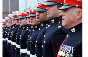 Royal Marines mark the official formation of 43 Commando