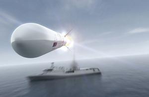 Sea Ceptor missile