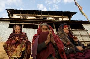 Women in Rapasing, Nepal