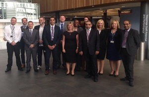 S300 justine greening visits walsall college