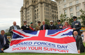 Earl Howe announces Armed Forces Day 2017 in Liverpool