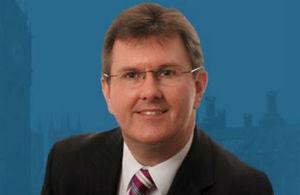 Trade Envoy Sir Jeffrey Donaldson