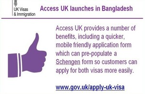 New visit visa application form launched in Bangladesh