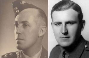 Major Roy Aylmer Wadeson and Hugh Francis Johnstone Mackenzie, Copyright IRIC. All rights reserved