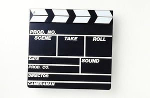 Image of film clapper