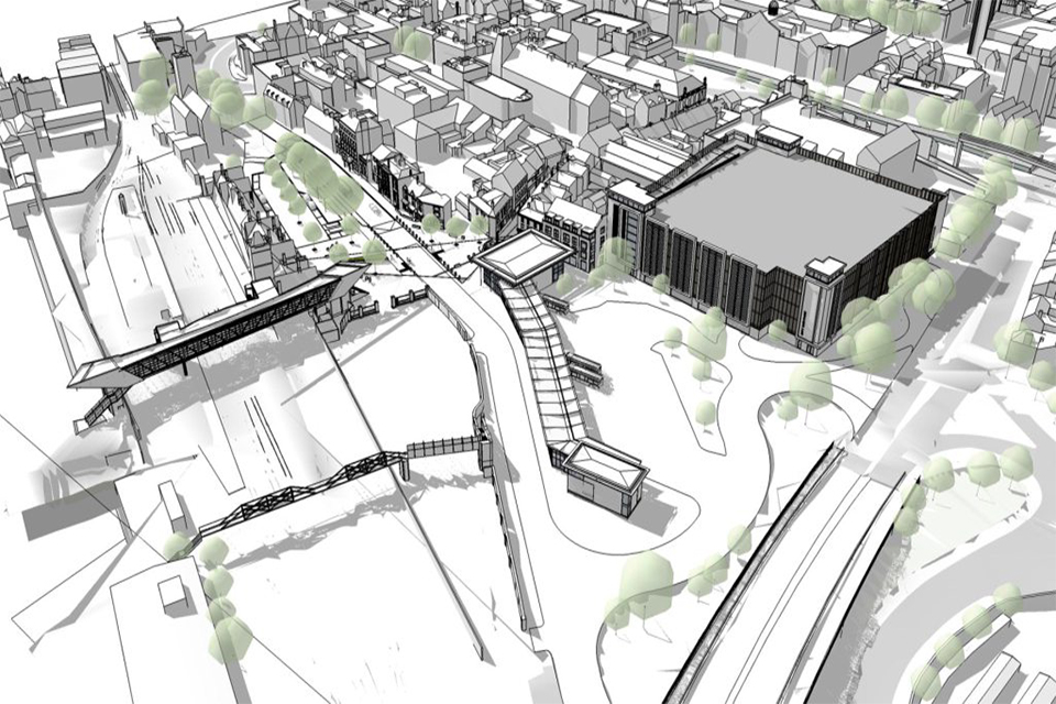 New Bus Station And Car Park In 29 Million Lincoln Investment Gov Uk