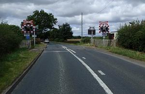 Yafforth level crossing
