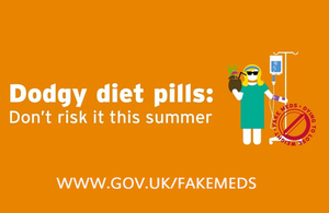 Dodgy diet pills - don't risk it this summer