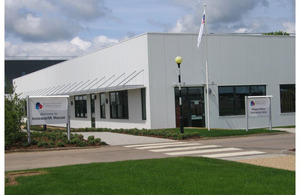 Innsworth House, the new Service Personnel and Veterans Agency (SPVA) facilty at Imjin Barracks in Gloucestershire