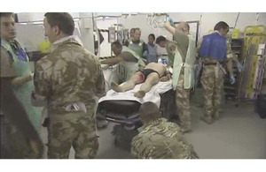 207 Field Hospital medical staff completing their final pre-deployment assessment