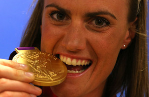 Captain Heather Stanning