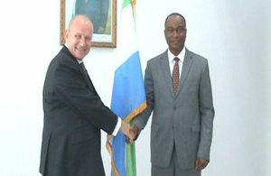 HC Guy Warrington and Dr Samura Kamara