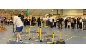 S300 olympic rower opens new rehabilitation unit