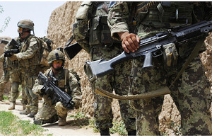 Warriors from the Afghan National Army