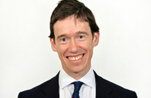 Rory Stewart, Minister of State at the Department for International Development