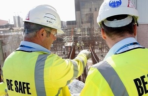 Site safety induction on Sellafield site