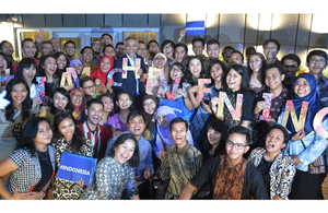 Chevening 2016/2017 pre-departure ceremony in Indonesia