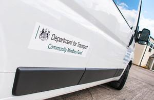 Community minibus fund.