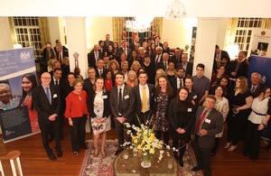 Reception at Westminster House, Canberra