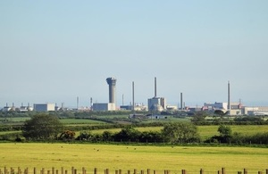 Sellafield site, west Cumbria