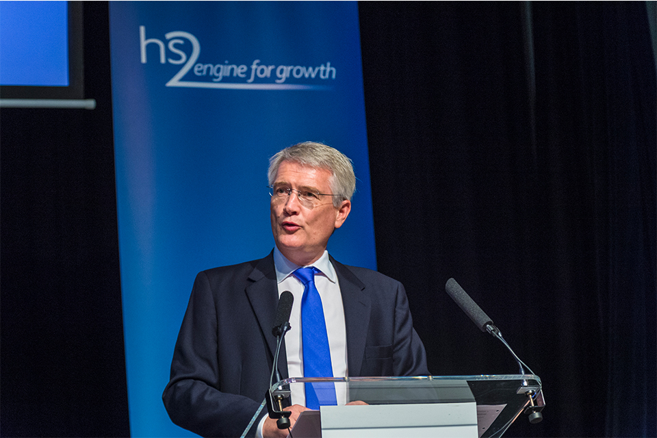 Andrew Jones: HS2 speech