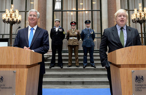 Defence Secretary Michael Fallon officially launched 2016's Reserves Day at a recognition reception, hosted by Foreign Secretary Boris Johnson on Tuesday