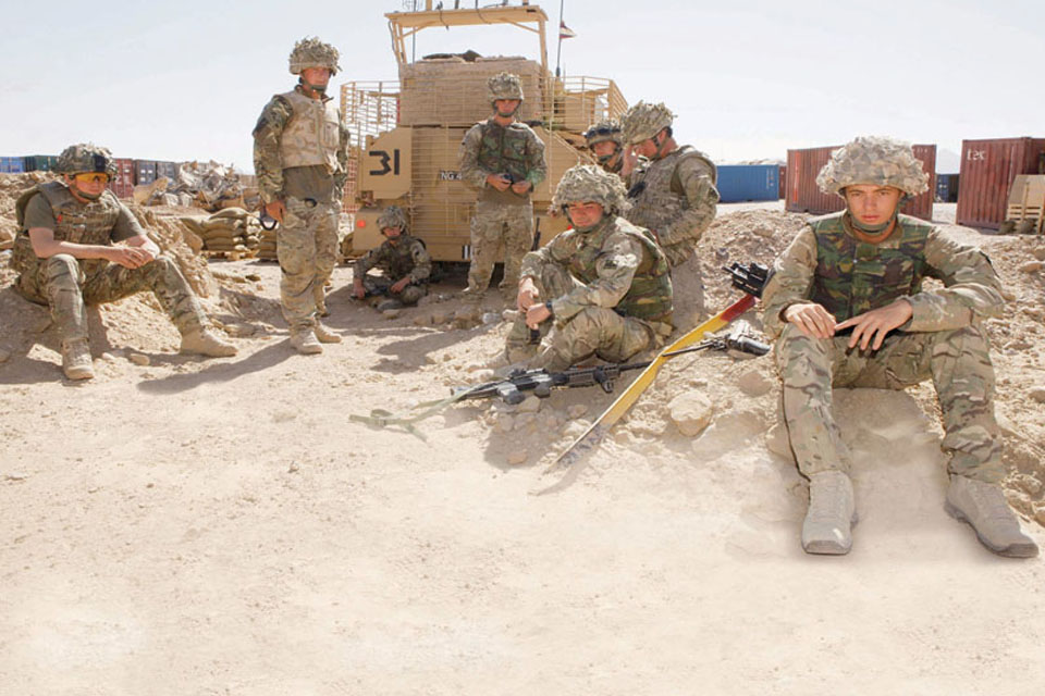 Life on the ground for soldiers of the Light Dragoons is very different to previous tours