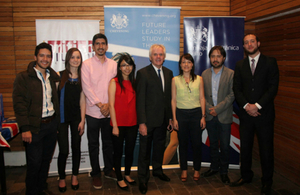 Farewell 'happy hour' to celebrate 2016/2017 Chevening scholars