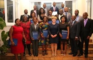 Zimbabwean Chevening Scholars 2016