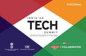 India-UK TECH Summit 2016