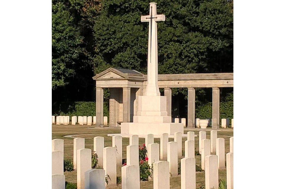 Rheinberg War Cemetery, Germany, Crown Copyright, All rights reserved
