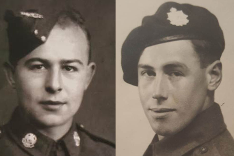Cpl Edgar and Cpl Carr, Copyright Edgar and Carr families, All rights reserved