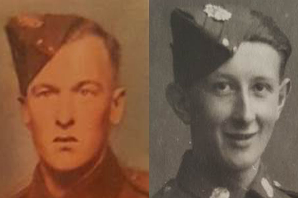 LCpl Halliday and Pte Stanley, Copyright Halliday and Stanley families, All rights reserved