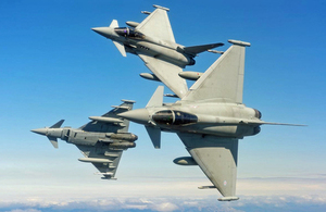 RAF Typhoon aircraft to visit Japan